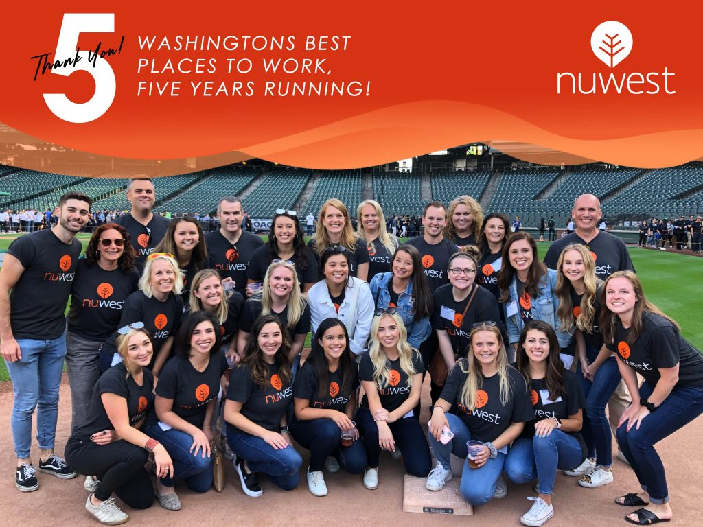 NuWest Group wins Puget Sound's 100 Best Places to Work in Washington for fifth consecutive year