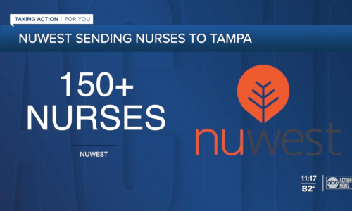 NuWest rapid response travel healthcare staffing